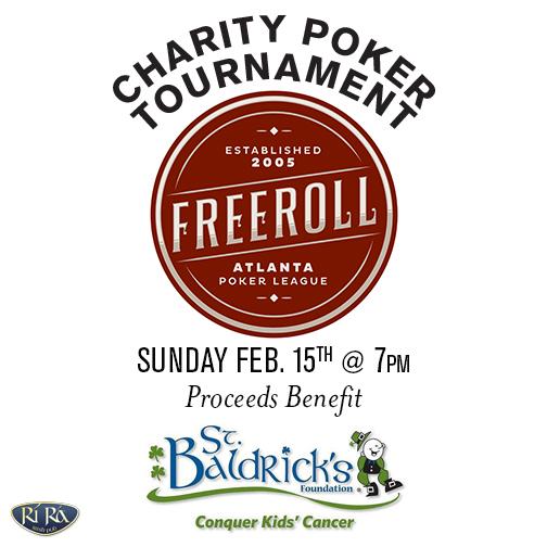 St. Baldricks Charity Poker FB
